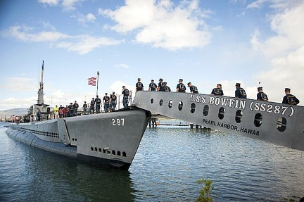 SS 287 USS  BOWFIN WITH CPO selects