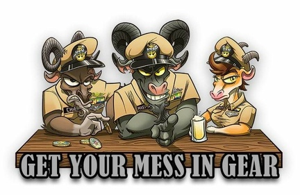 CPO GET YOUR MESS IN GEAR 38154